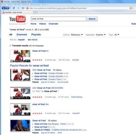 Youtube LCEN hébergement Omar et Fred