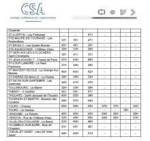 CSA fin télévision analogique numérique