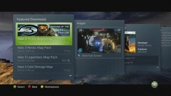 xbox live interface
