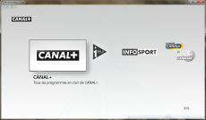 canal+ media center win7
