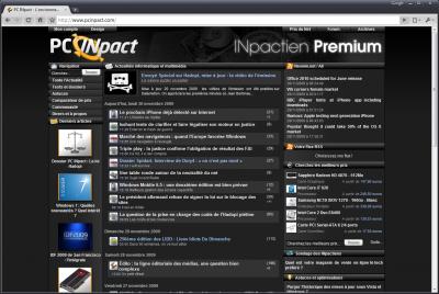 pcinpact premium themes design