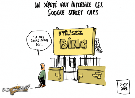 loi anti google street view bing