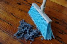 balai poussière nettoyage