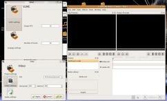 vlmc screenshot écran logiciel montage vidéo