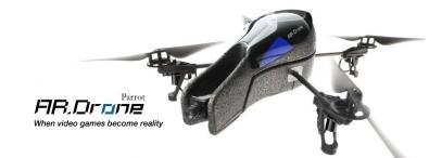 parrot quadricoptère AR drone iphone ipod wifi