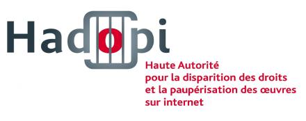 hadopi logo détournement pastiche