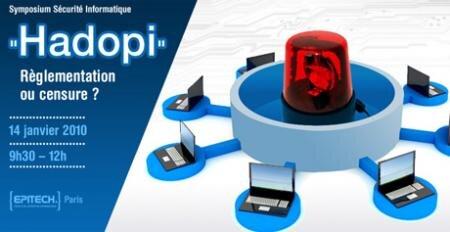 epitech conférence hadopi outils