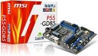 MSI P55-GD85 PLX USB 3.0 S-ATA 6 Gbps