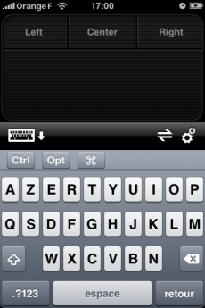 logitech iphone clavier souris