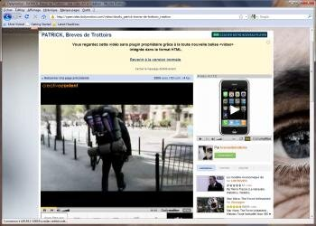 firefox dailymotion openvideo ogg theora balise video