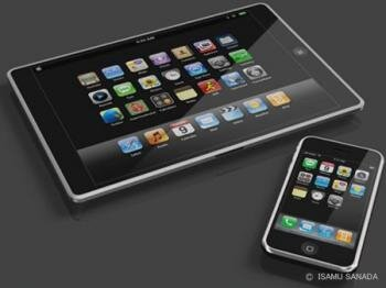 apple talbet concept