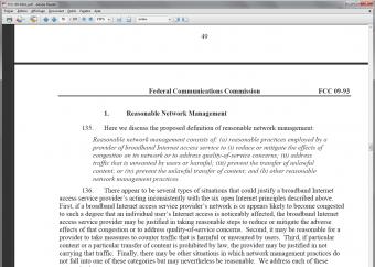 EFF FCC neutralité net discrimination contenu