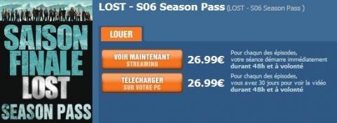 TF1Vision Lost Season Pass