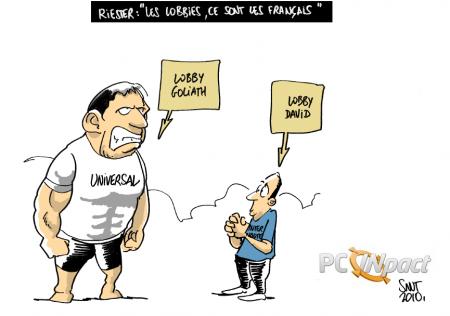 franck riester lobbies influence députés