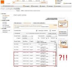Orange facture astronomique 9975 euros