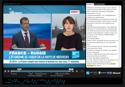 france24 retranscription texte vidéo script sourds