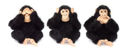 trois singes neutralité