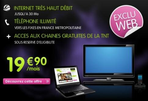 Numericable triple-play bas prix
