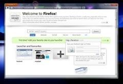 firefox concept accueil
