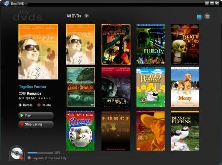 realdvd copie privée DVD realnetworks