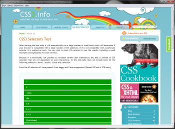 ie9 preview css3 selecteurs