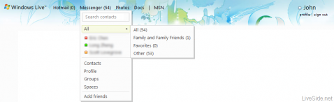 windows live web messenger
