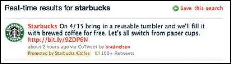 tweet starbucks