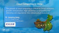 Intel IDF 2010 Pékin Day 1 Cloud