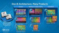 Intel IDF 2010 Pékin Day 1 Architecture