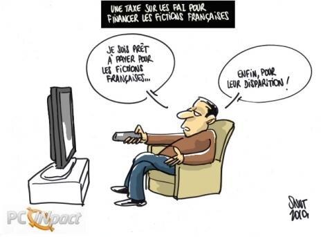 taxe fiction française cosip FAI chiffre d'affaire