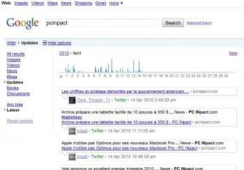 twitter historique archive google