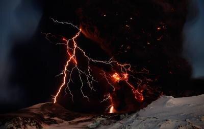 Eyjafjallajokull volcan