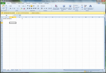 office excel 2010 securite lecture seule