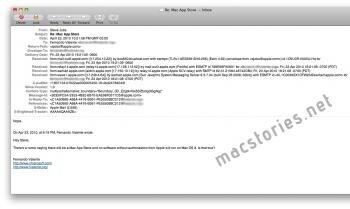 app store mac steve jobs mail