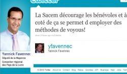 Yannick Favennec enquete sacem cour comptes