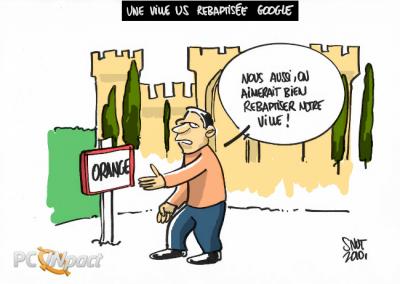 orange ville google nom