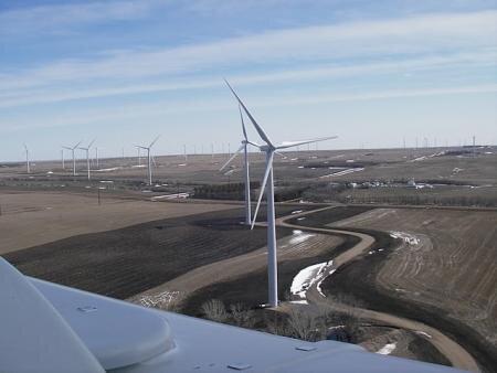 google éoliennes
