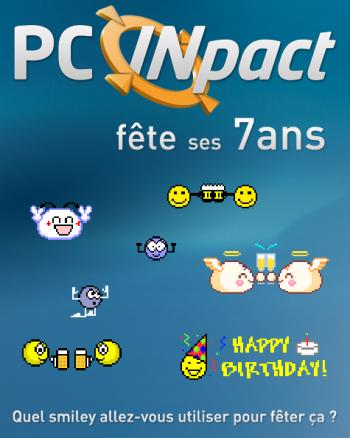 PC INpact anniversaire