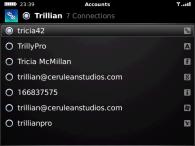 trillian blackberry