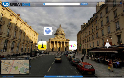 urbandrive pagesjaunes 3D 360