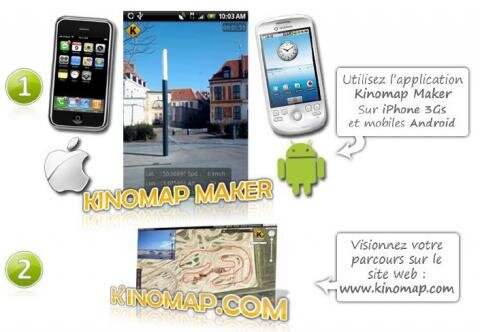 Kinomap Android iPhone