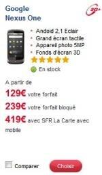 Nexus One SFR