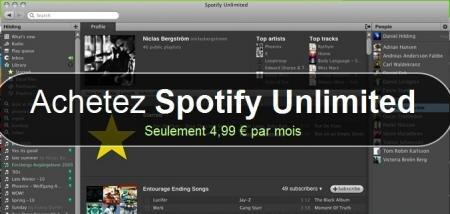 Spotify Illimité