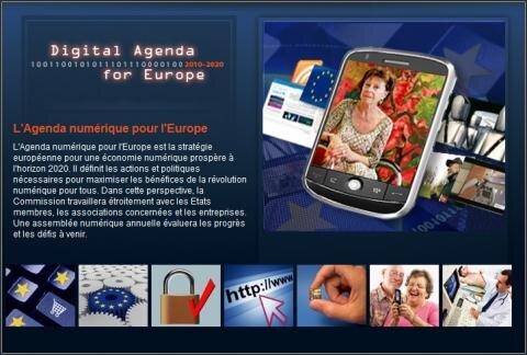 Agenda numérique Europe
