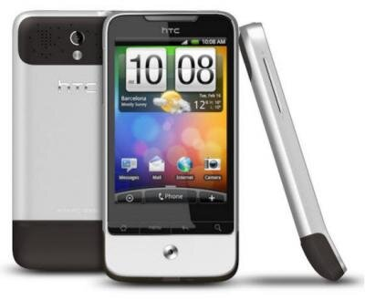 HTC legend android mobile sense google sfr