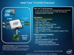 Core i5 i7 655k 875k