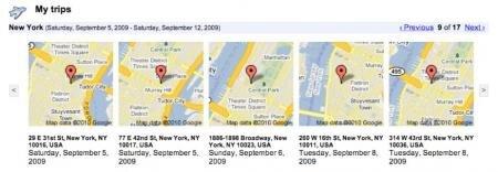 historique google latitude