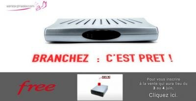 Free Freebox HD Vente Privee
