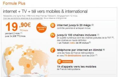 Orange ADSL Formule Plus