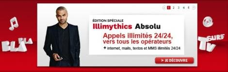 SFR Illimythics Absolu Tony Parker